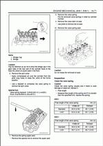 Isuzu Engine 4HK1, 6HK1 models, руководство по ремонту